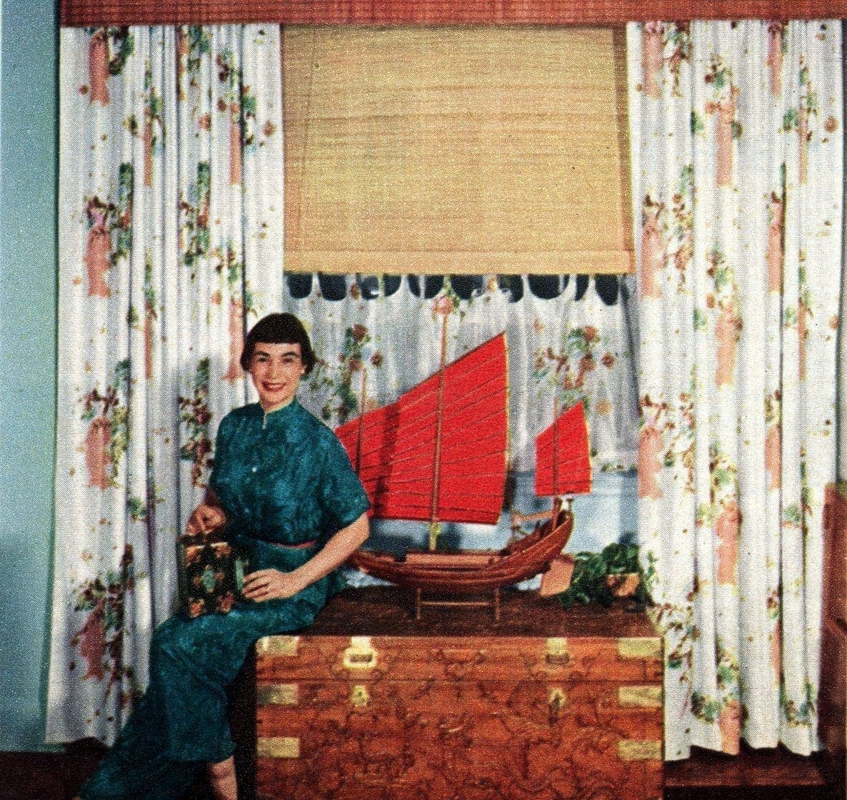 Stylish vintage window coverings from the fifties (3)