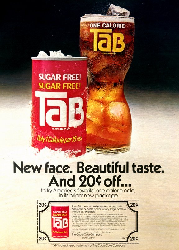 Sugar-Free Tab from 1978