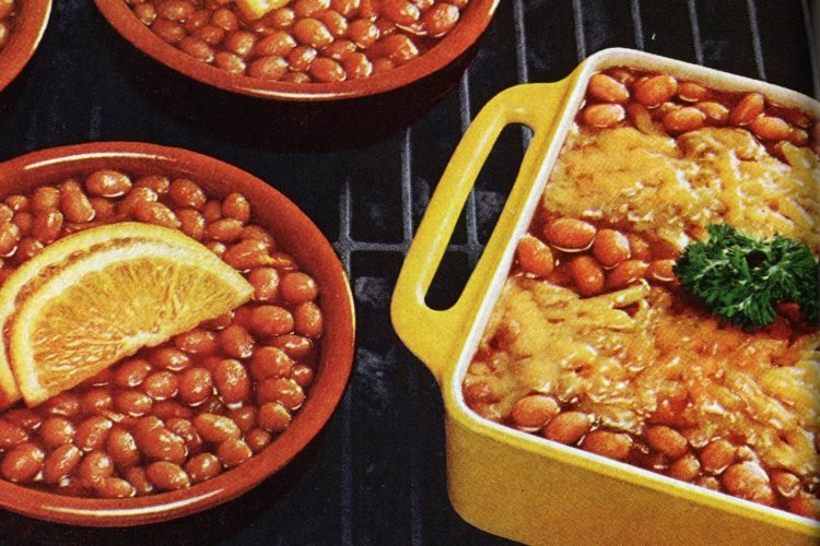 Summer baked bean recipes from the 1970s