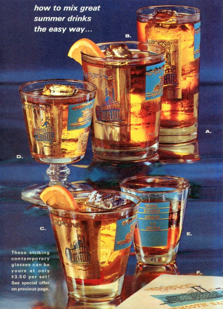 Summer cocktail recipes from 1968 (2)