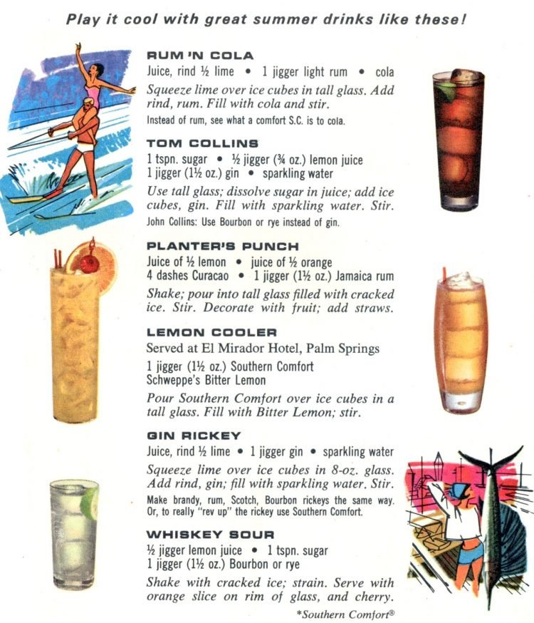 Summer cocktail recipes from 1968 (4)