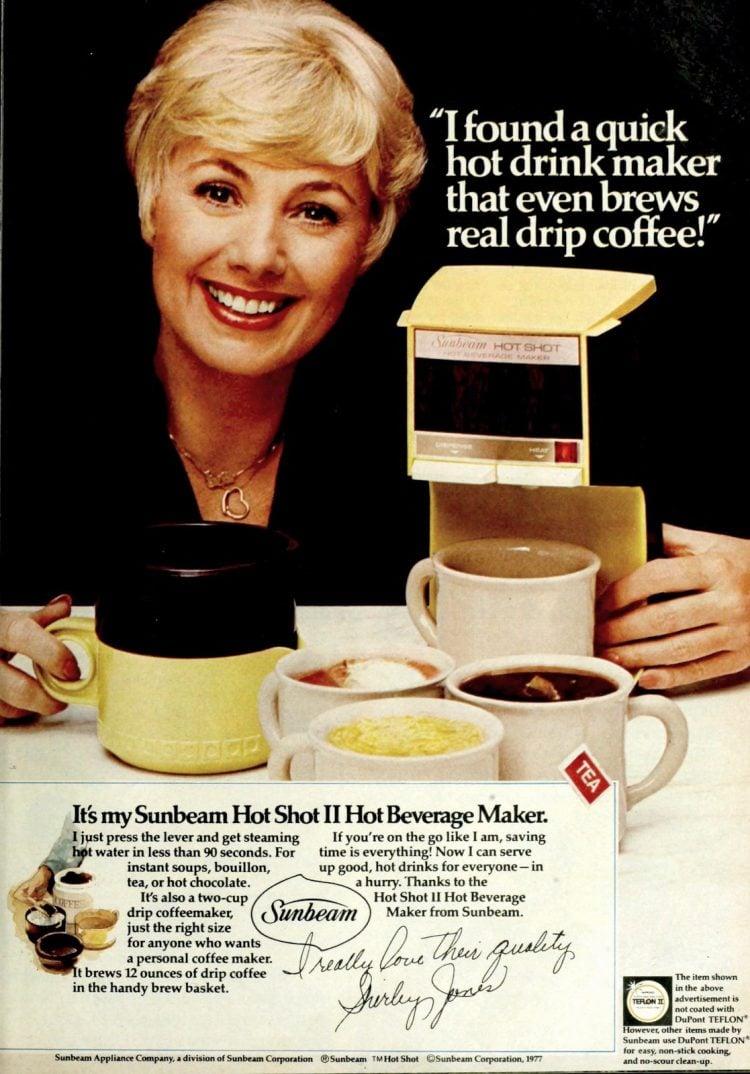 Sunbeam coffee maker - Hot Shot II (1977)