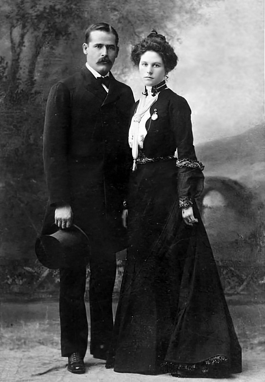Sundance Kid and his wife