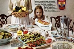 Sunday Italian dinner recipes 1974