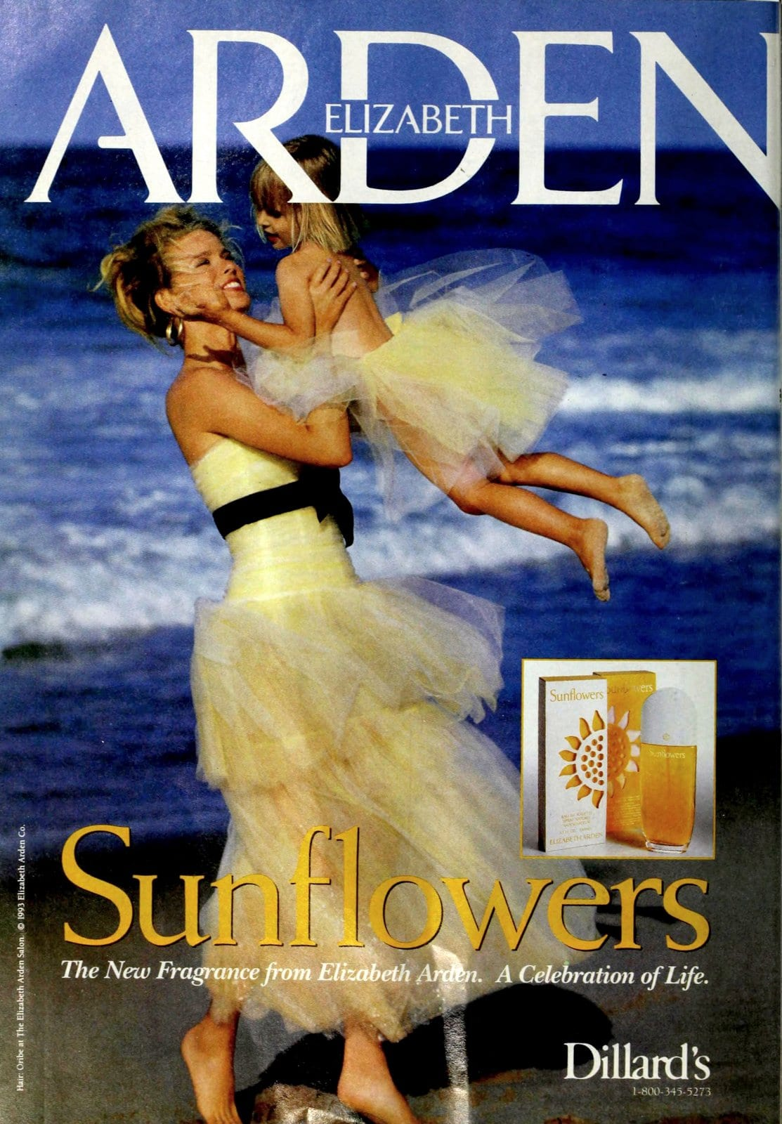 Sunflowers vintage fragrance from Elizabeth Arden (1993) at ClickAmericana.com