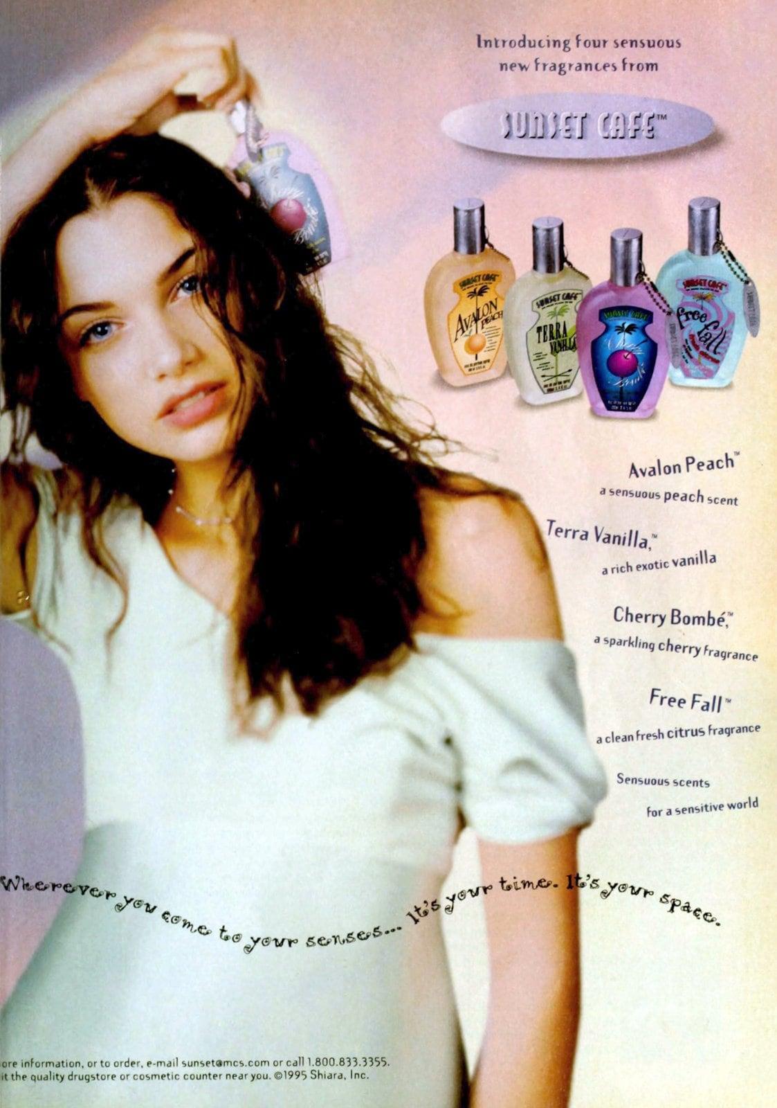 Sunset Cafe fragrances (1995) at ClickAmericana com