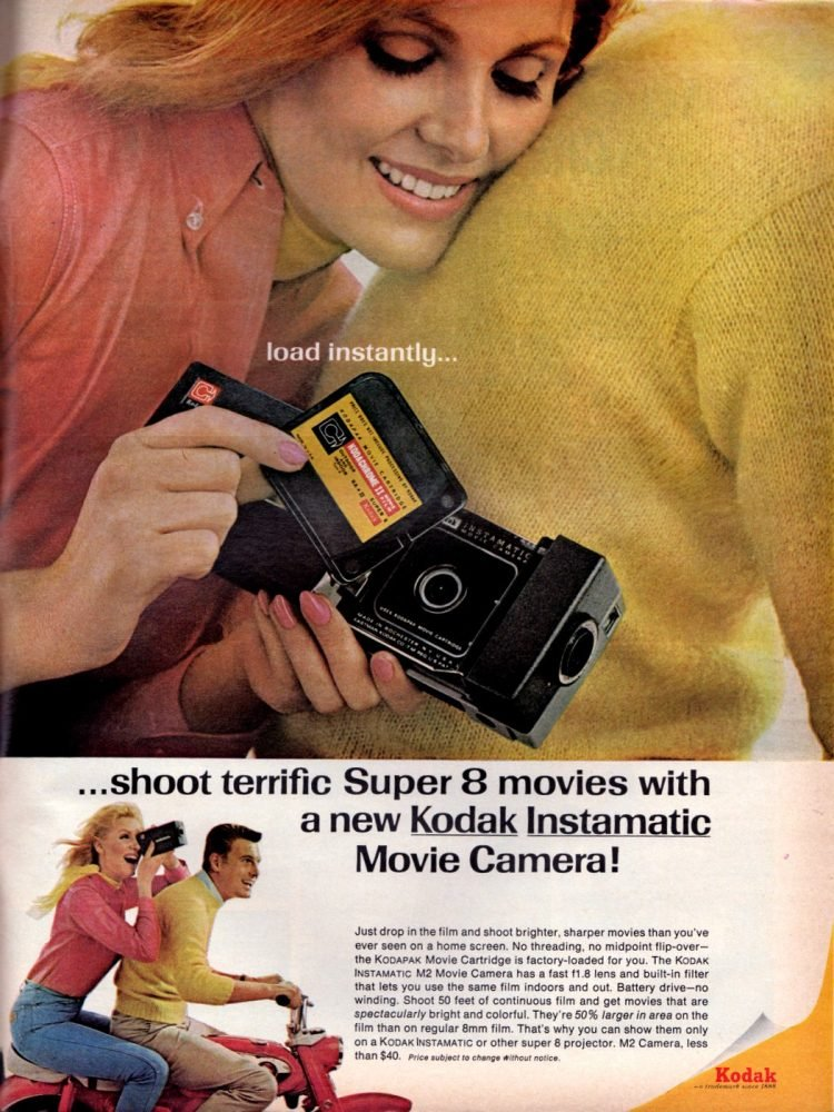 Super 8 movies with Vintage Kodak home movie cameras (1966)