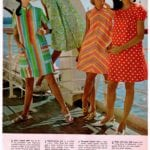 Colorfully with-it '60s dresses from Wards 1968