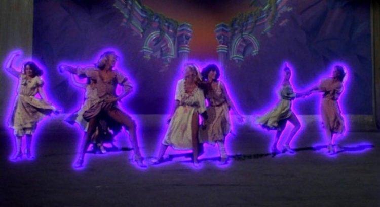 Super special effects in 1980s Xanadu movie