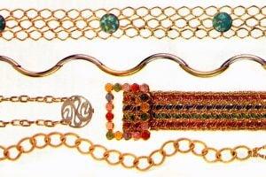 Super stylish '60s belts