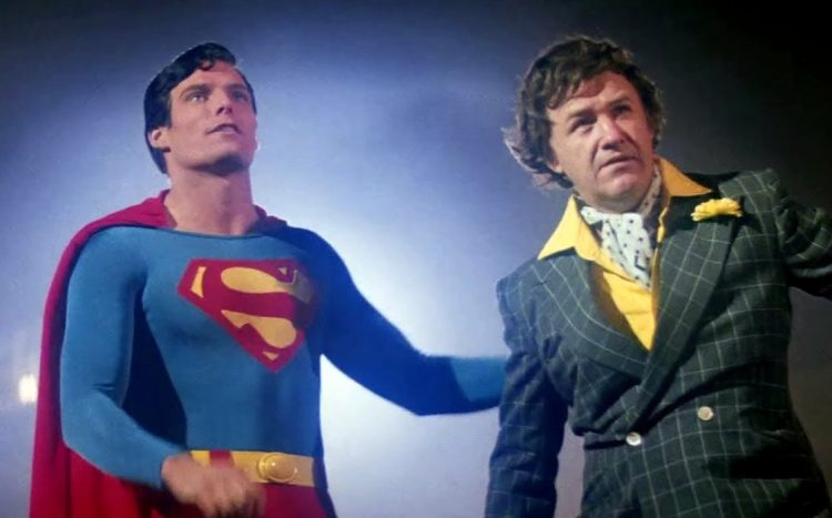 Superman and Lex Luthor - Gene Hackman