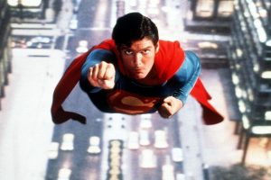 Superman, starring Christopher Reeve