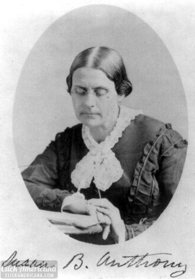 Susan B. Anthony by Napoleon Sarony