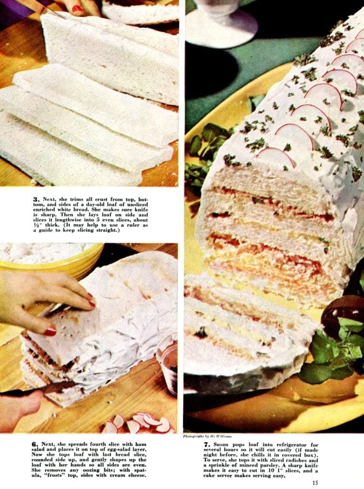 Susan's Party Sandwich