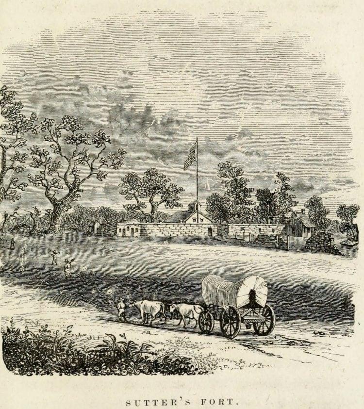 Sutter's Fort - Gold Rush