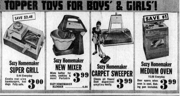 Suzy Homemaker ad from 1968