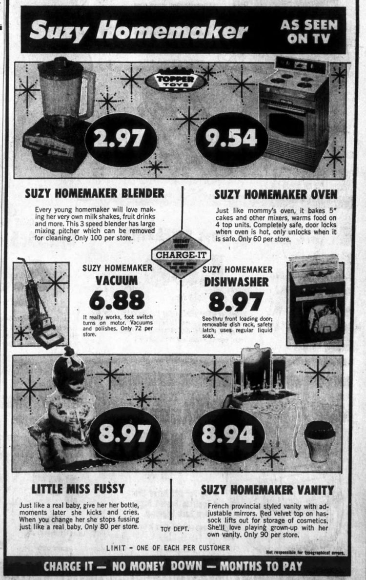 Suzy Homemaker ads from 1967 (2)