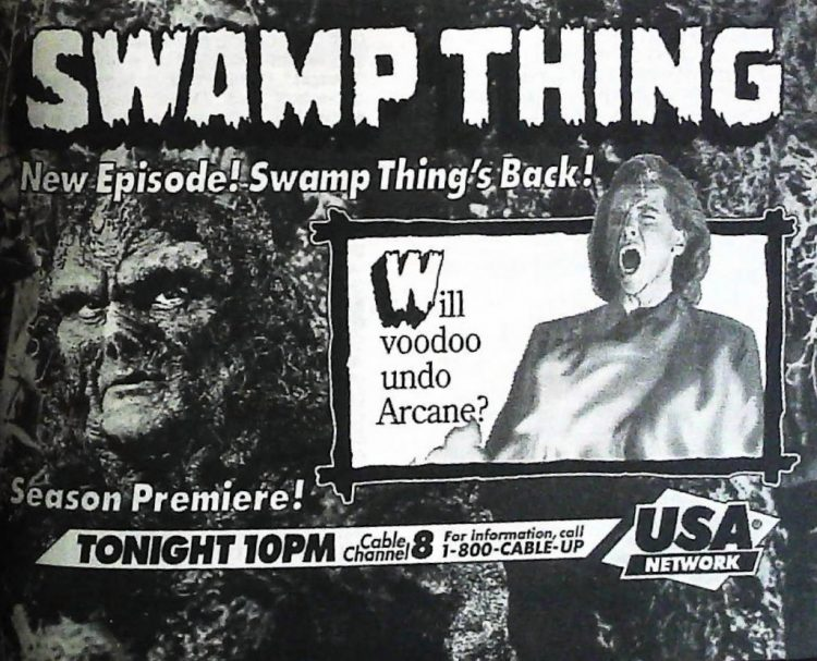 Swamp Thing on TV 1991