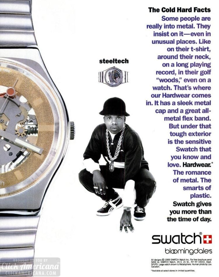 Swatch Steeltech (1989)
