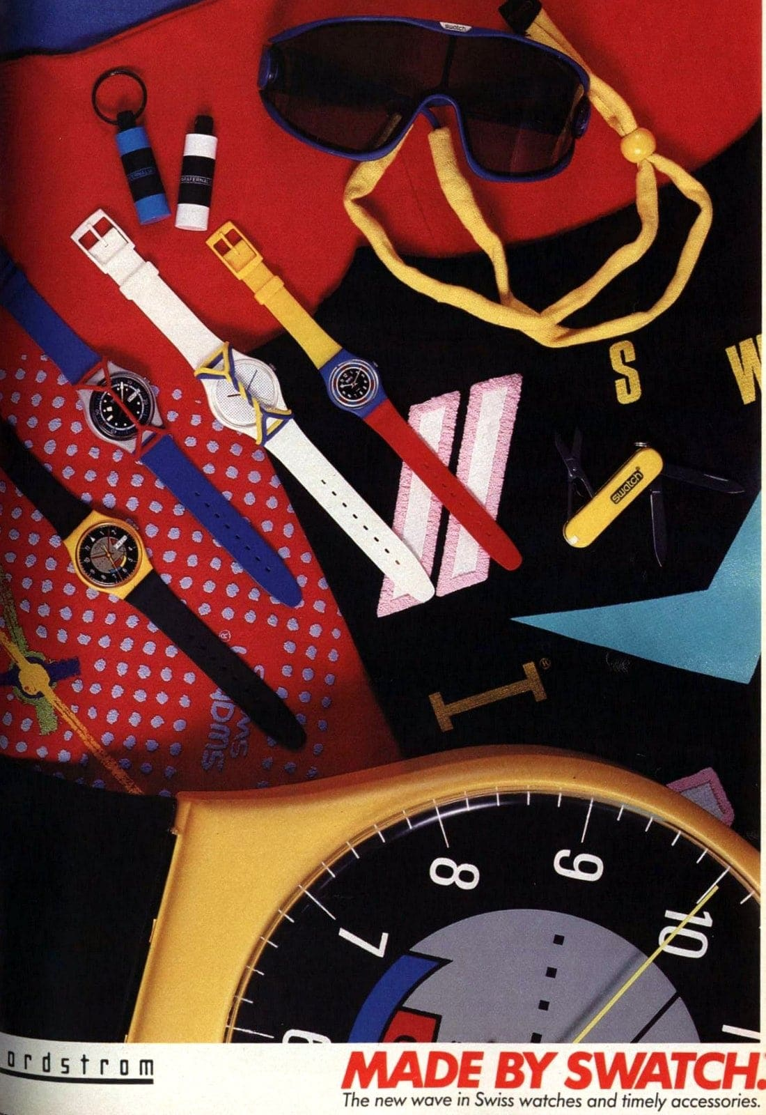 Swatches - New wave in Swiss watches 1980s