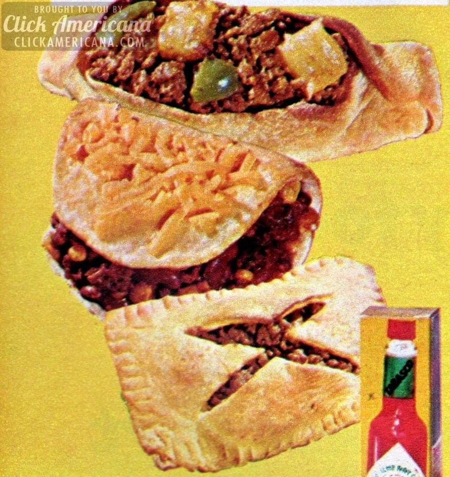 "Sweet & Sour ""Shape Ups"" ground beef recipe (1972)"