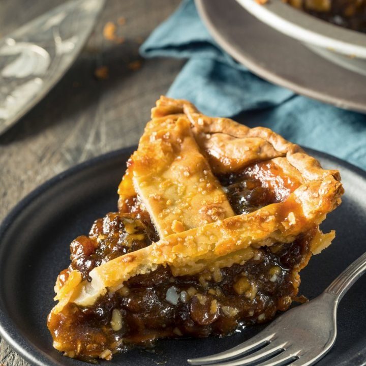 Sweet Homemade Mincemeat Pie