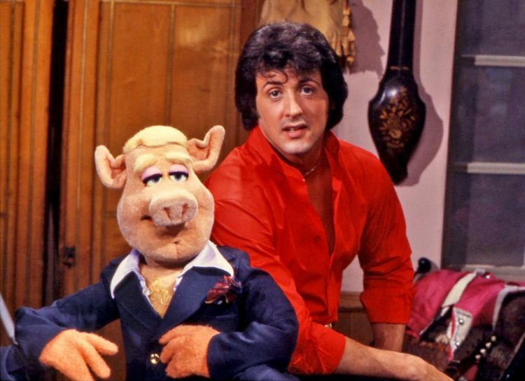 Sylvester Stallone in The Muppet Show
