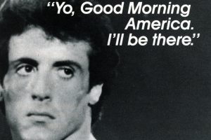 Sylvester Stallone talks Rambo and Rocky on Good Morning America (1987)