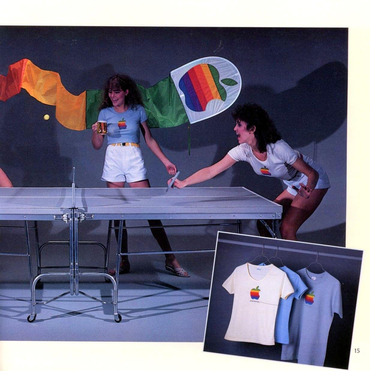 T-shirts from Apple Collection Catalog