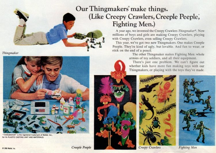 THINGMAKER toys from 1966 (2)