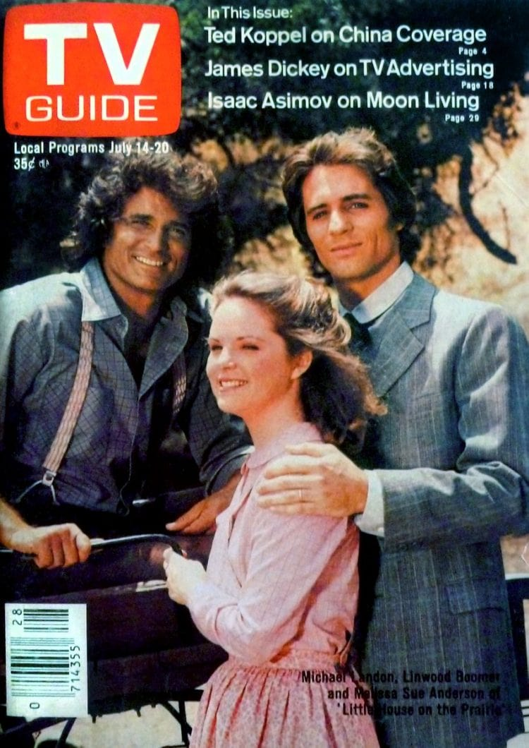 TV Guide 1979 Little House on the Prairie