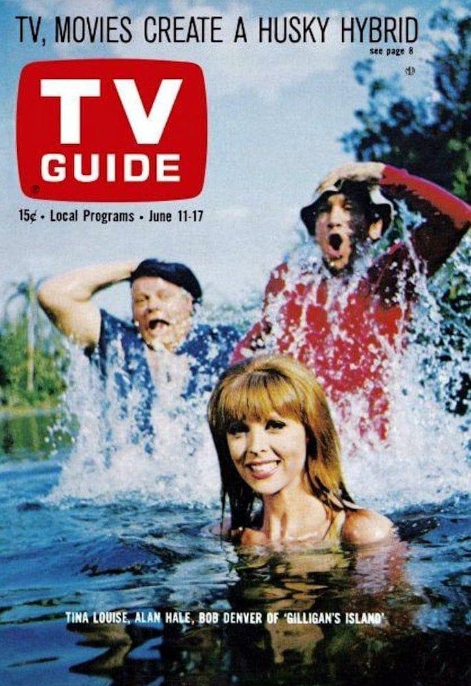 TV Guide - Gilligan's Island - 1966