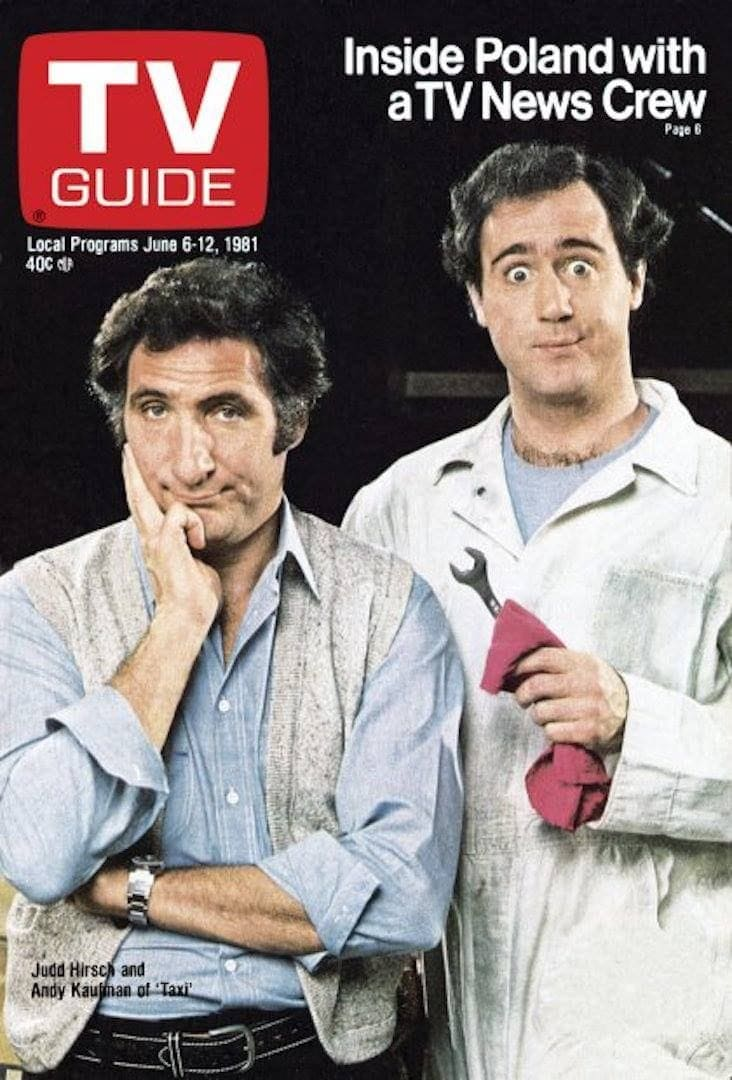 TV Guide - Judd Hirsch and Andy Kaufman