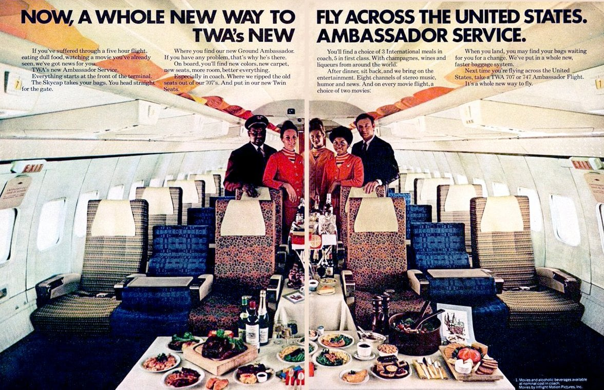 TWA Ambassador Service (1970)