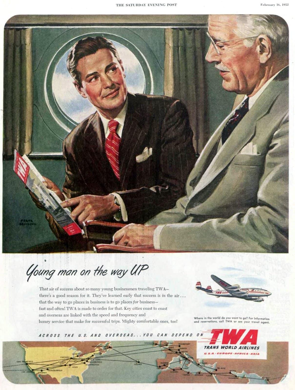 TWA for businessmen (1952)