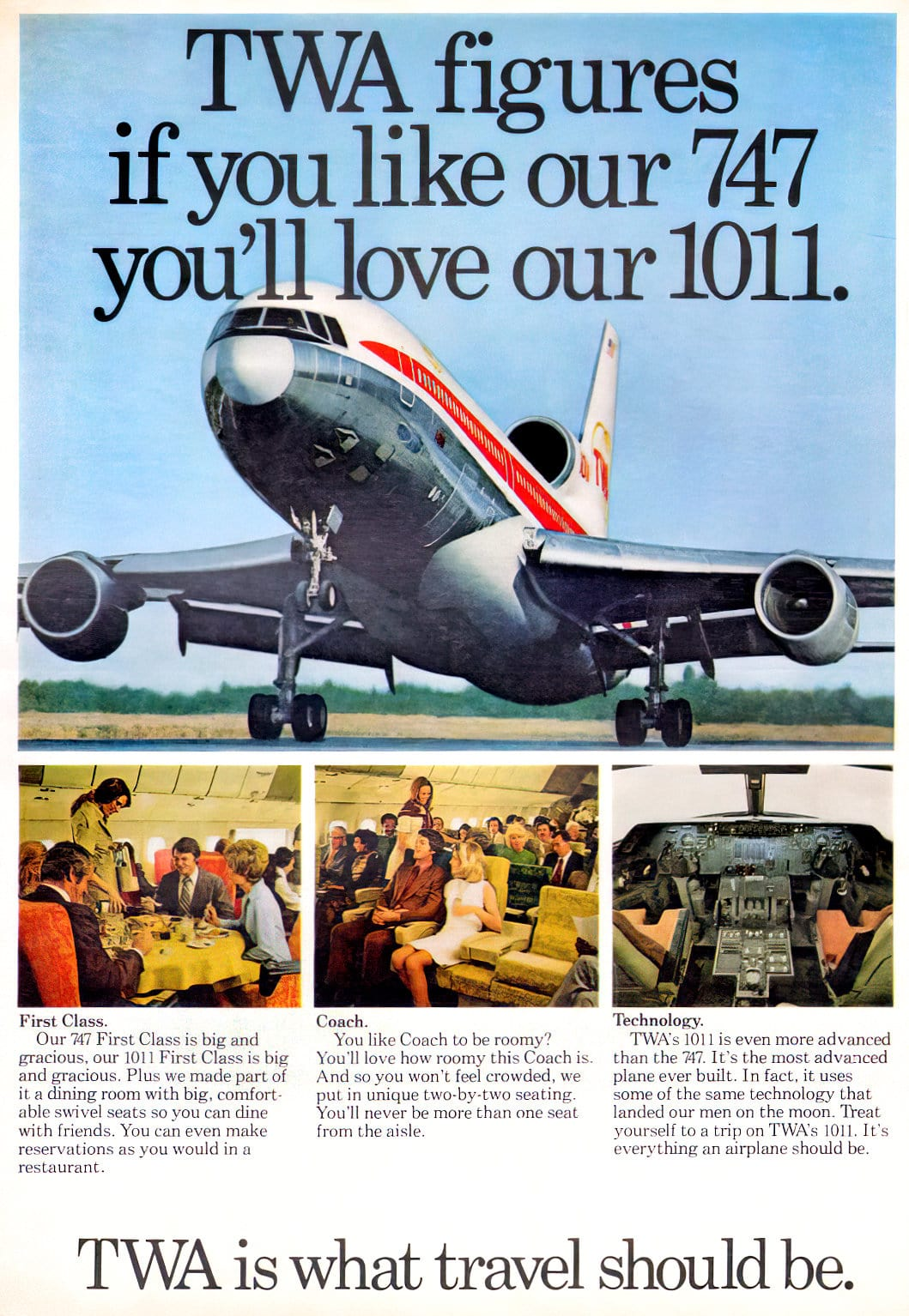 TWA what travel should be (1973)