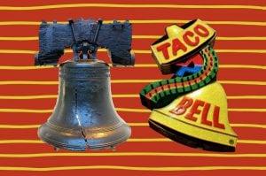 Taco Liberty Bell - April Fool's Day 1996