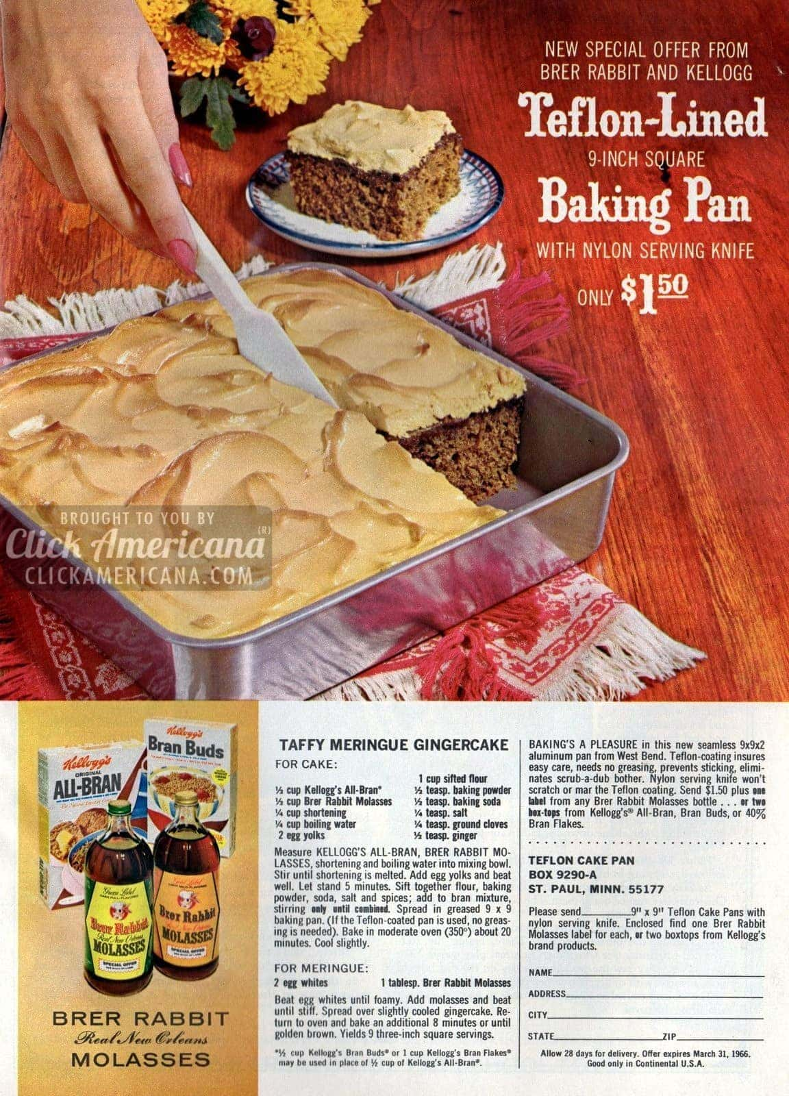 Taffy Meringue Gingercake-1965