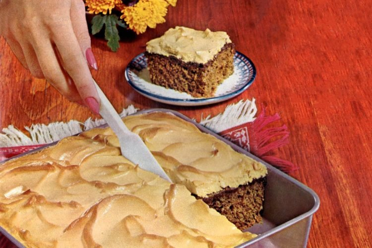 Taffy meringue gingercake (1965)