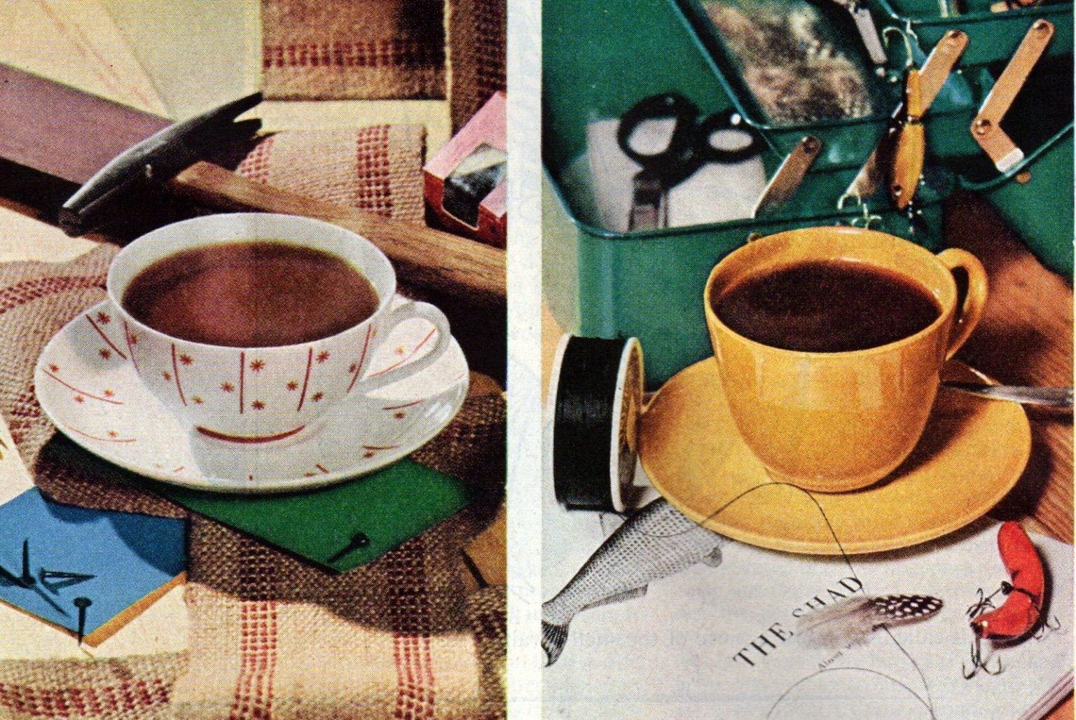 Take a coffee break - vintage ads