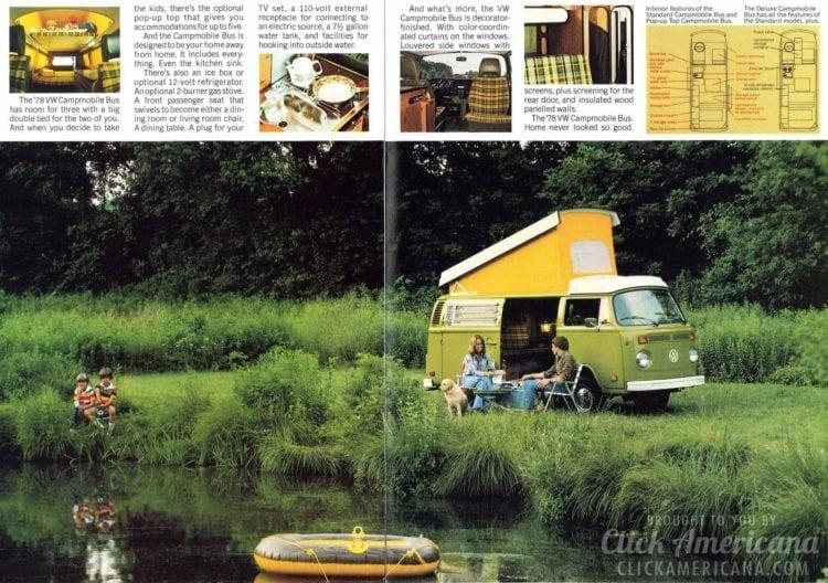 Take the Bus - VW Volkswagen camper van - May 1978