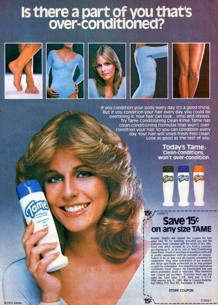 Tame Conditioning Clean Rinse(1980)
