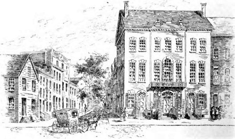 Tammany Hall, 1830