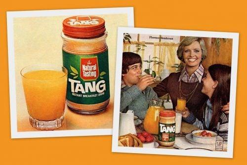 Tang, the retro orange drink mix