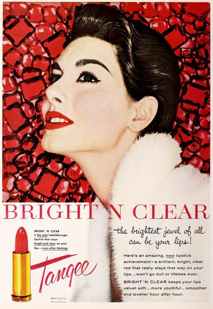 Tangee Bright N Clear lipstick from 1962