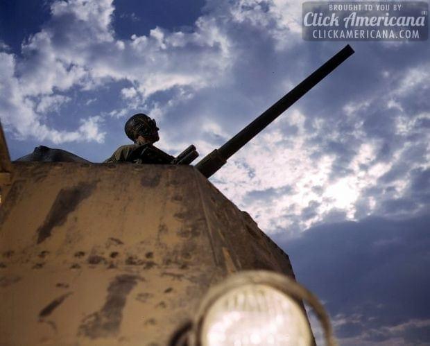 Tank commander, Ft. Knox, Ky-1942