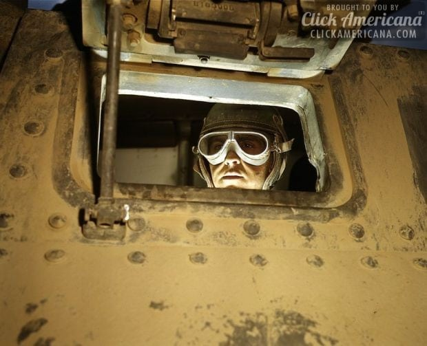Tank driver, Ft. Knox, Ky