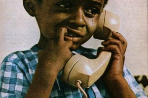Teach him to dial 0 and he'll always have a friend (2)