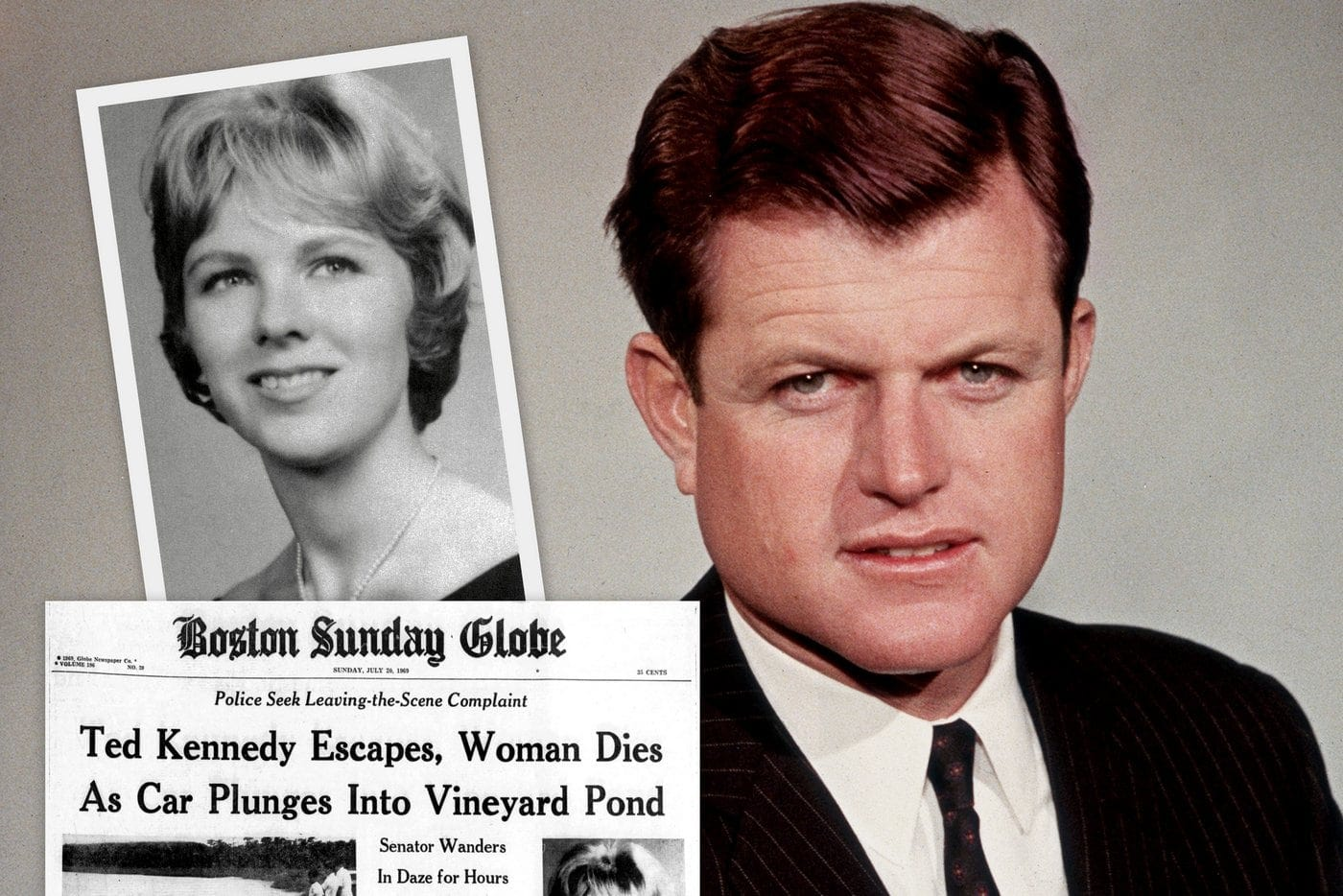 Ted Kennedy's Chappaquiddick incident: The 1969 car crash that ...