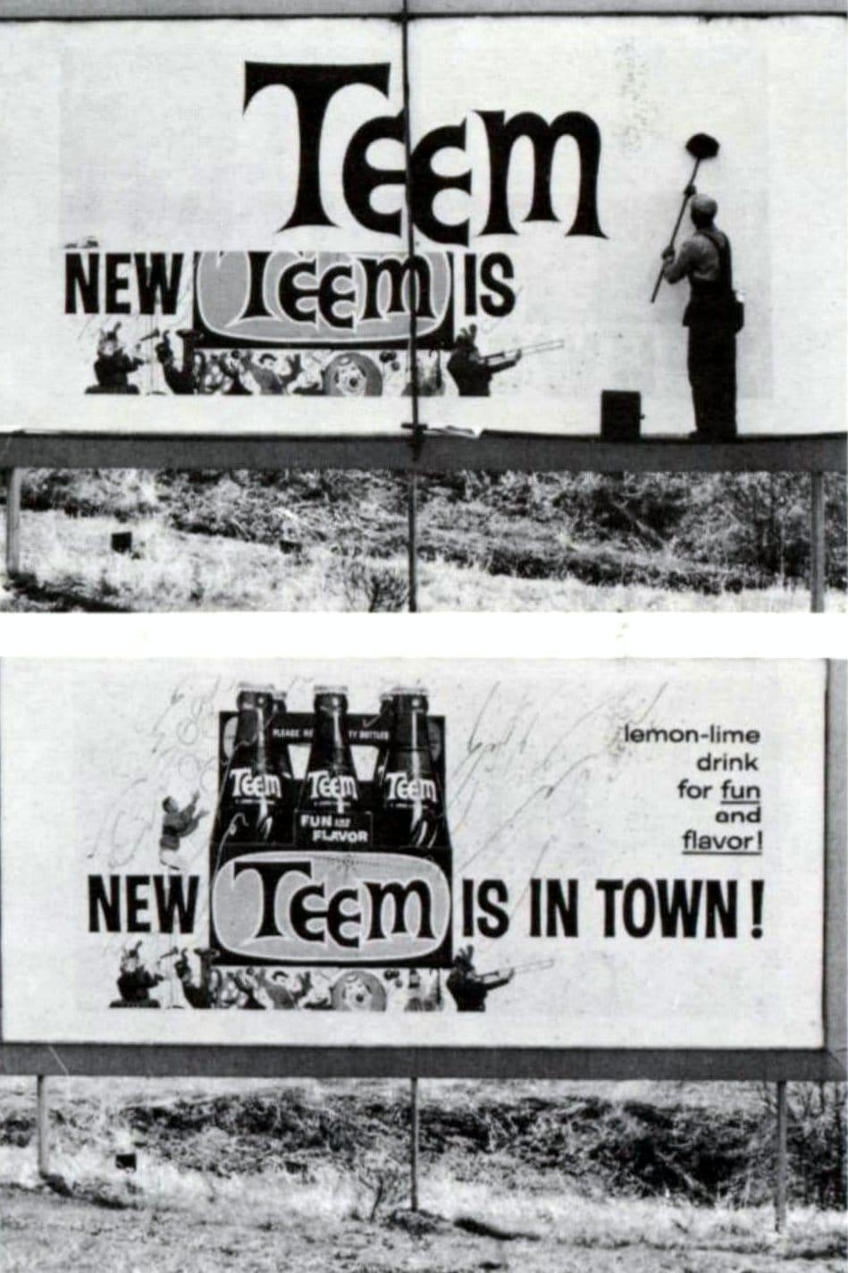 Teem soft drink (1959)